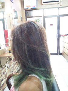 model rambut bergaya